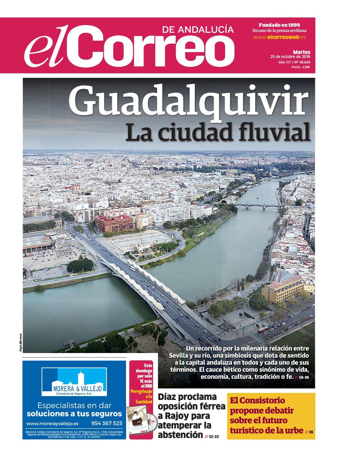 25 10 16 El Correo de Andalucia by EL CORREO DE ANDALUCÍA S.L. - issuu d7a28acddc01