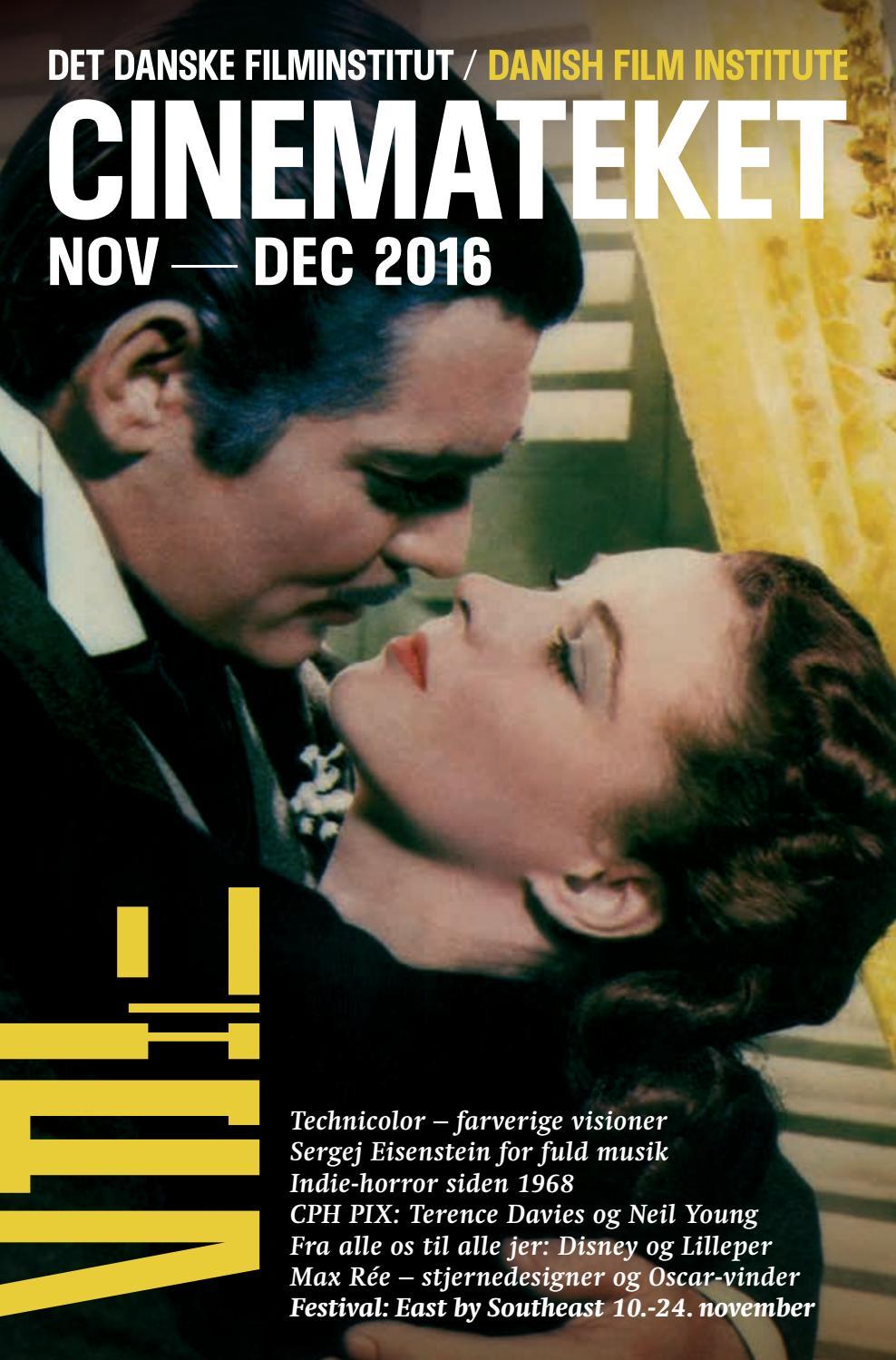 f1a02f9f5e2 Cinemateksprogram november-december 2016 by Det Danske Filminstitut - issuu