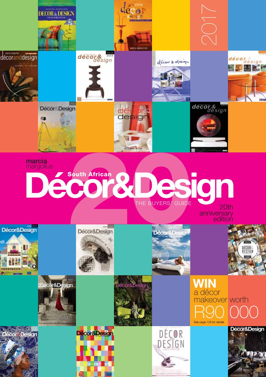 The Sa Decor Design Buyers Guide 20th Edition By Sa Decor Design Issuu