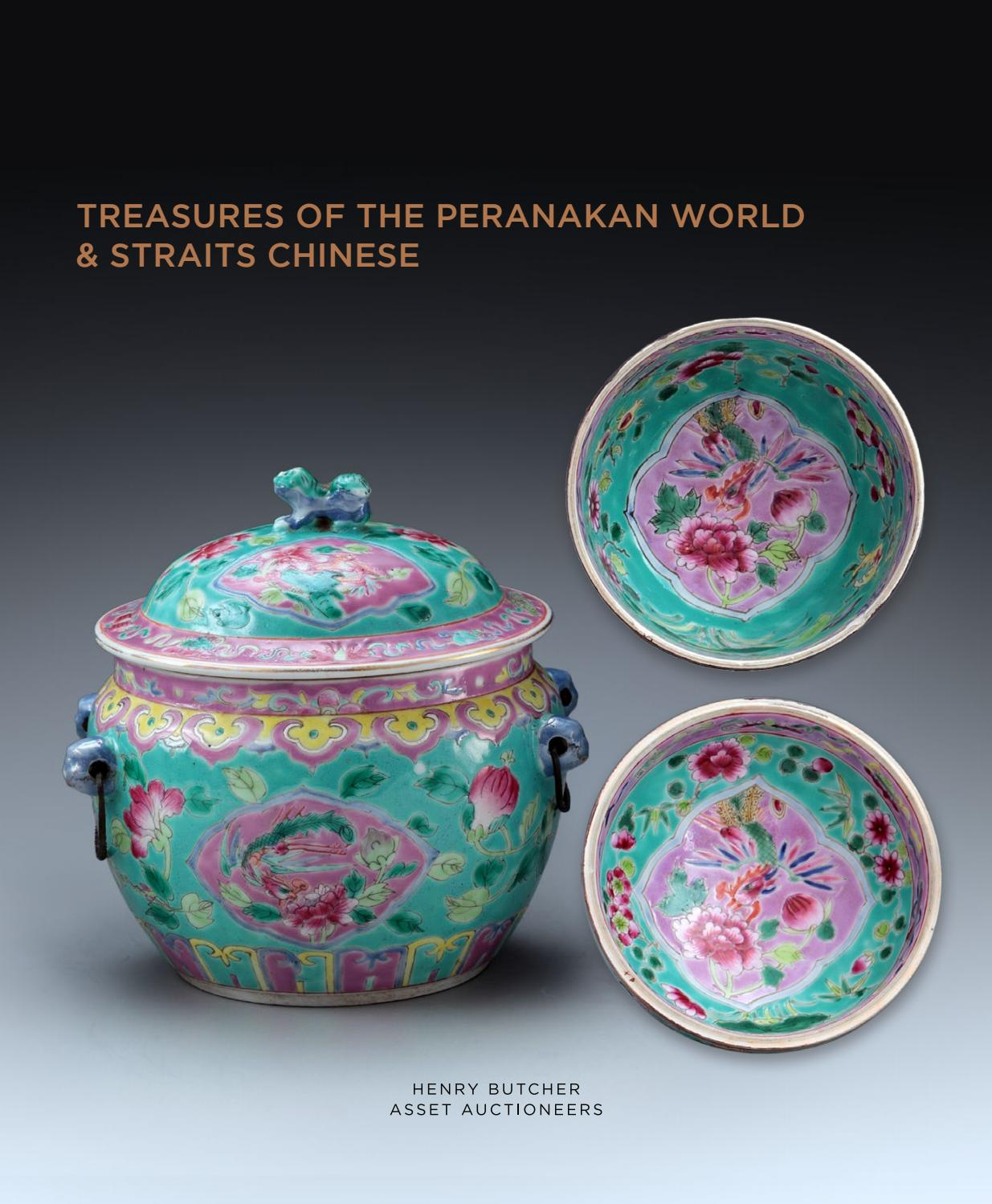 Treasures of the peranakan world straits chinese by henry treasures of the peranakan world straits chinese by henry butcher malaysia issuu reviewsmspy