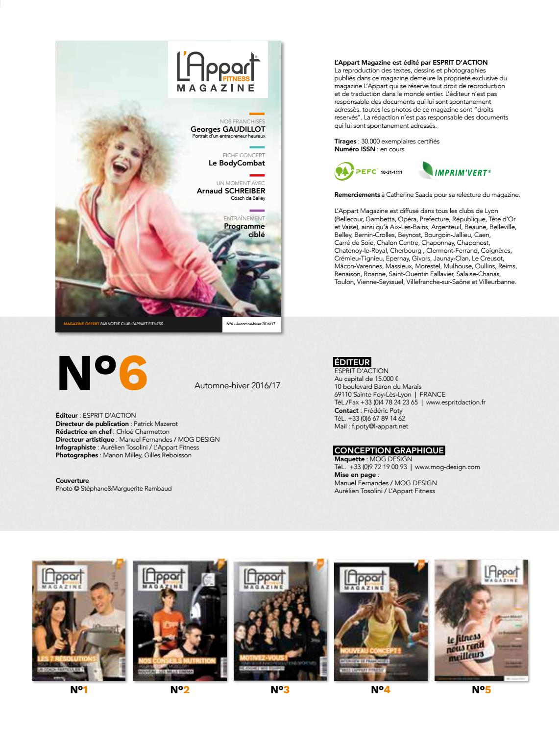 L'APPART FITNESS Magazine # 06 by MOG DESIGN - Issuu