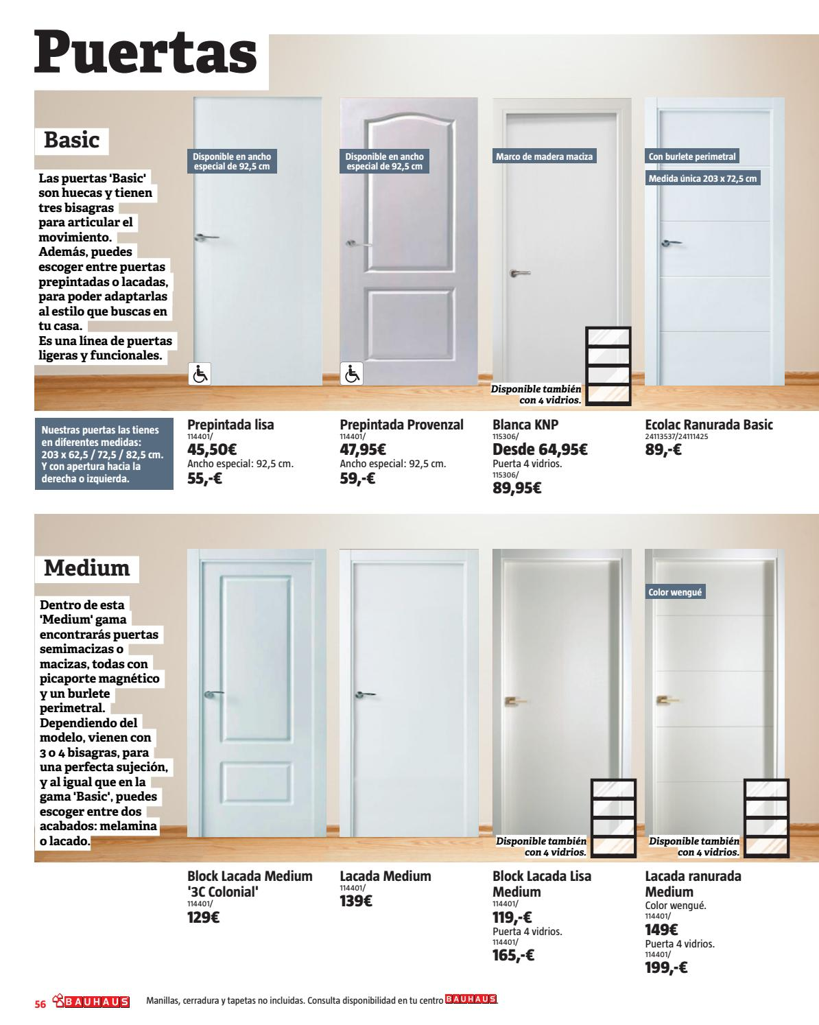 Especial decoraci n by bauhaus issuu for Manillas de puertas de interior