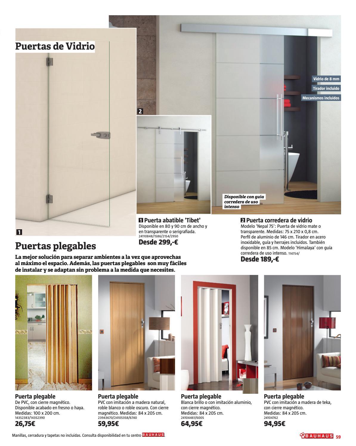 Especial decoraci n by bauhaus issuu - Puerta corredera plegable ...