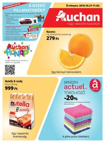 d8ddc0cf71 Auchan akcios ujsag 20161027 1102 by myhungary.net - issuu