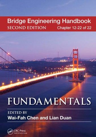 Bridge engineering handbook fundamentals ch 12 22 of 22 by bridge engineering handbook second edition fandeluxe Image collections