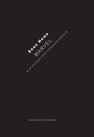 Howe Marvel Ukazka By Martin Sust Issuu