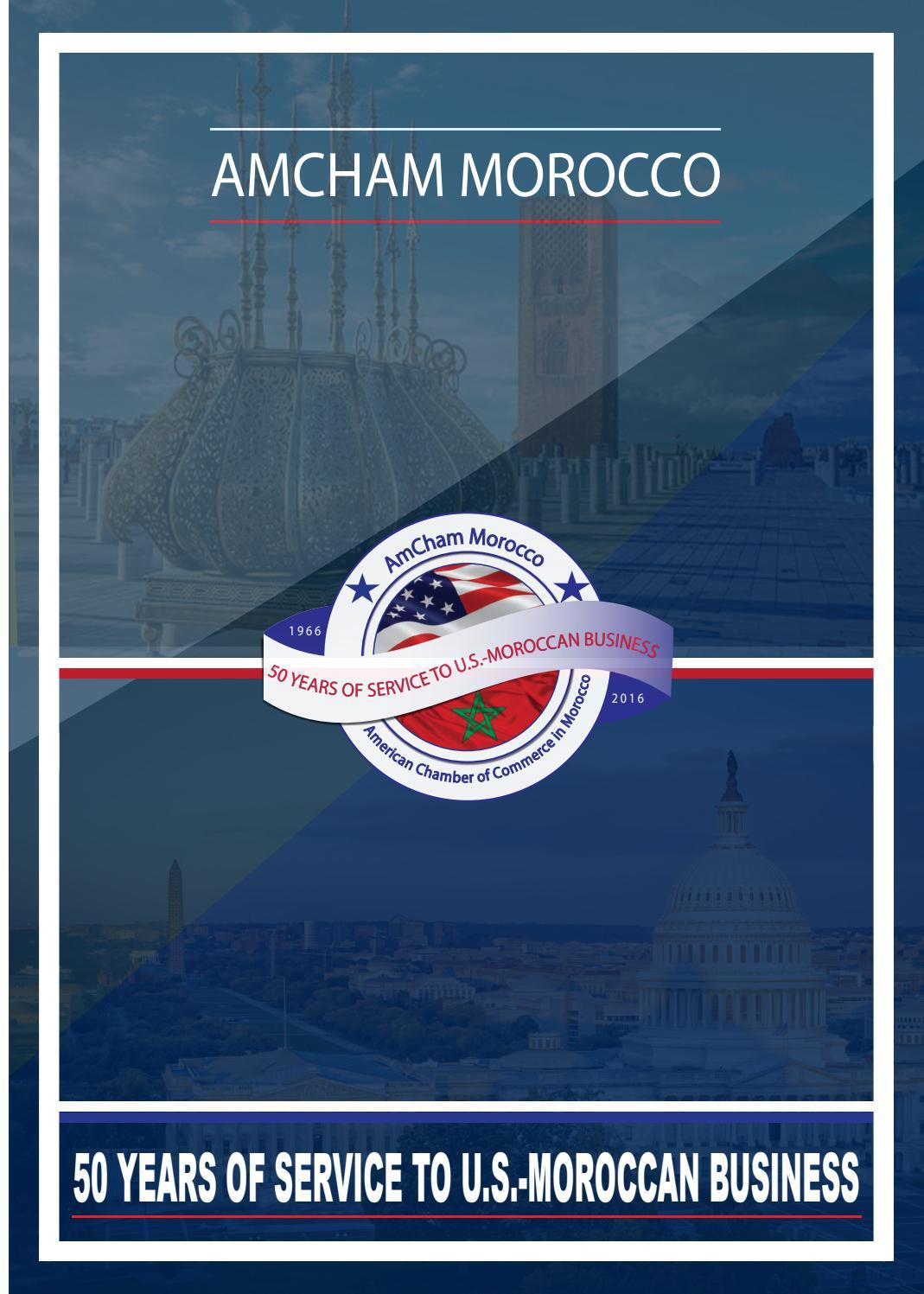 AmCham's 50th anniversary publication by AmCham Morocco - issuu