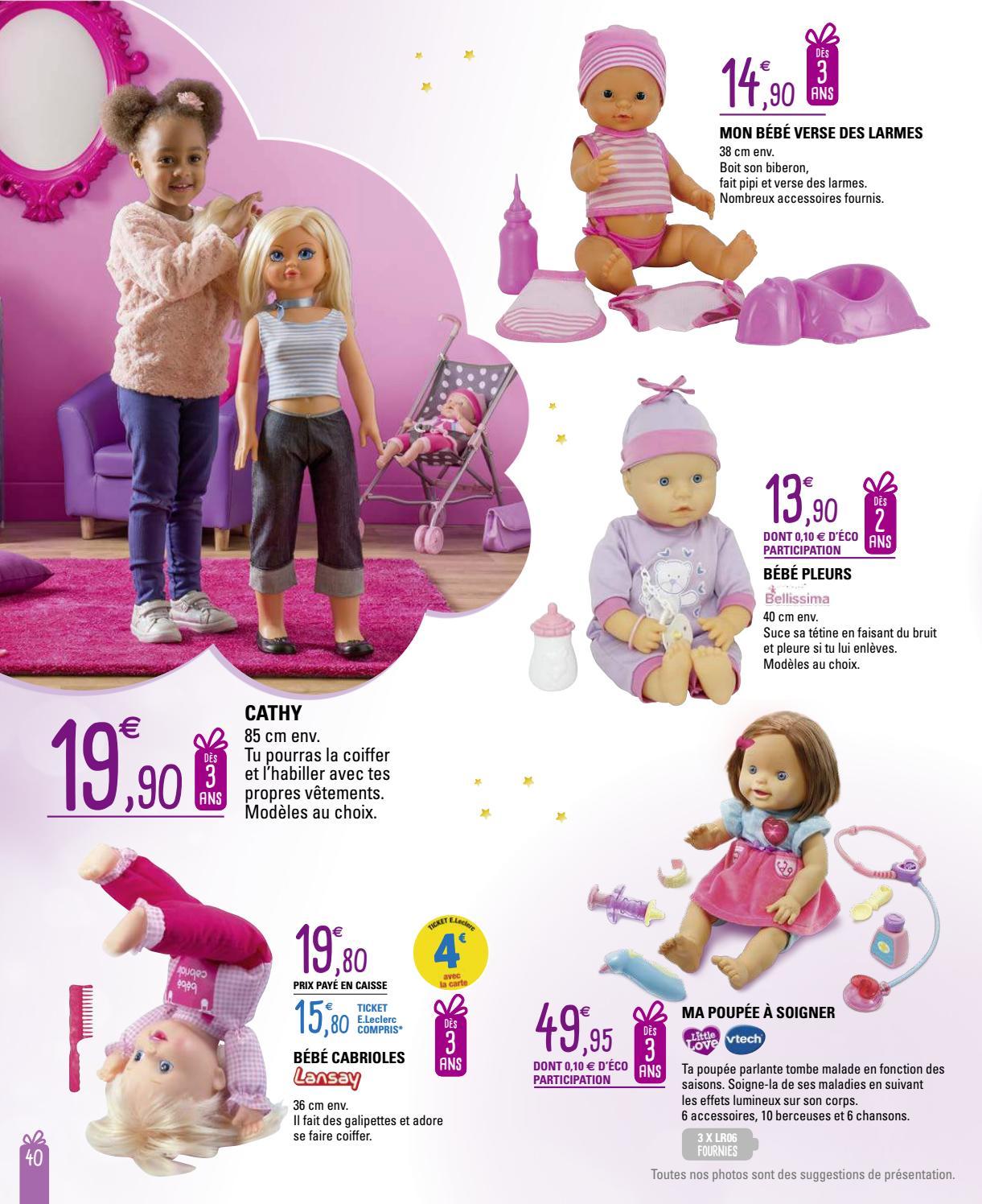 plus récent 12410 cf782 Catalogue E. Leclerc spécial jeux et jouets Noël 2016 by LSA ...