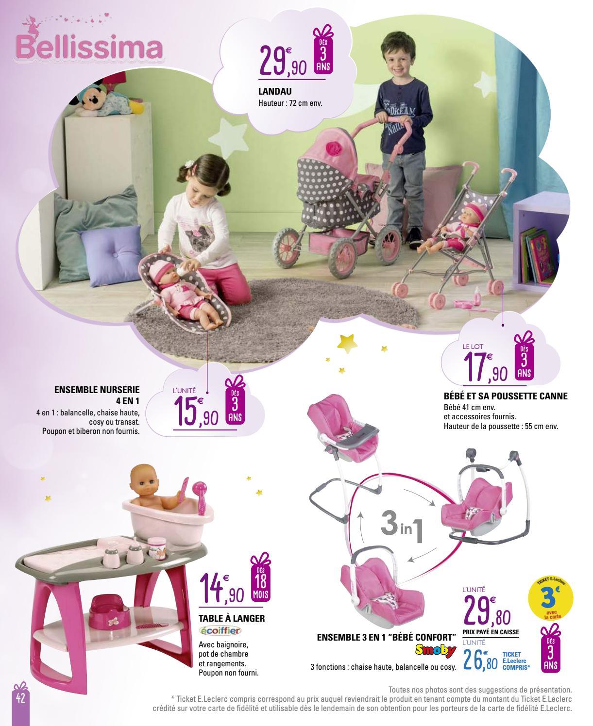 Catalogue E. Leclerc spécial jeux et jouets Noël 2016 by LSA conso