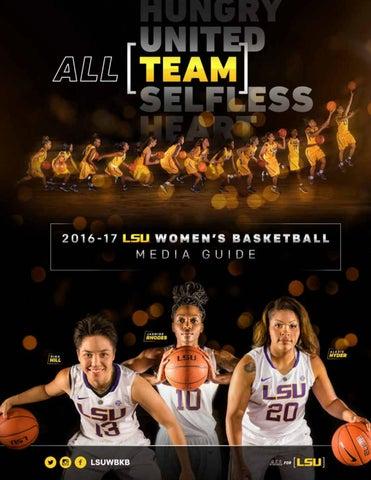 de50cbf9a4a83 2016-17 LSU Women s Basketball Media Guide by LSU Athletics - issuu