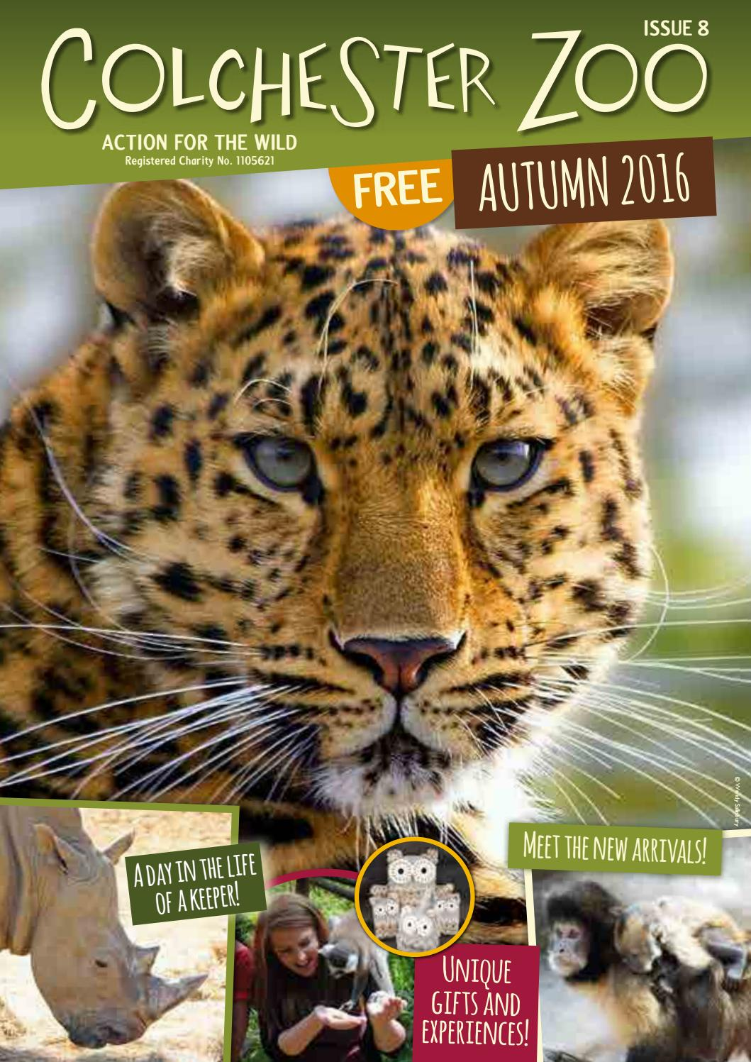 Colchester Zoo Magazine Autumn 2016 by Colchester Zoo - issuu