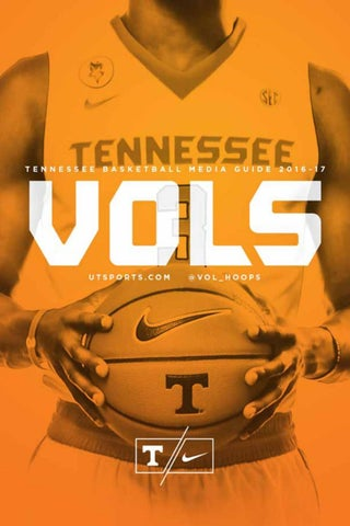 5bc15304b 2016-17 Tennessee Basketball Media Guide by The University of ...