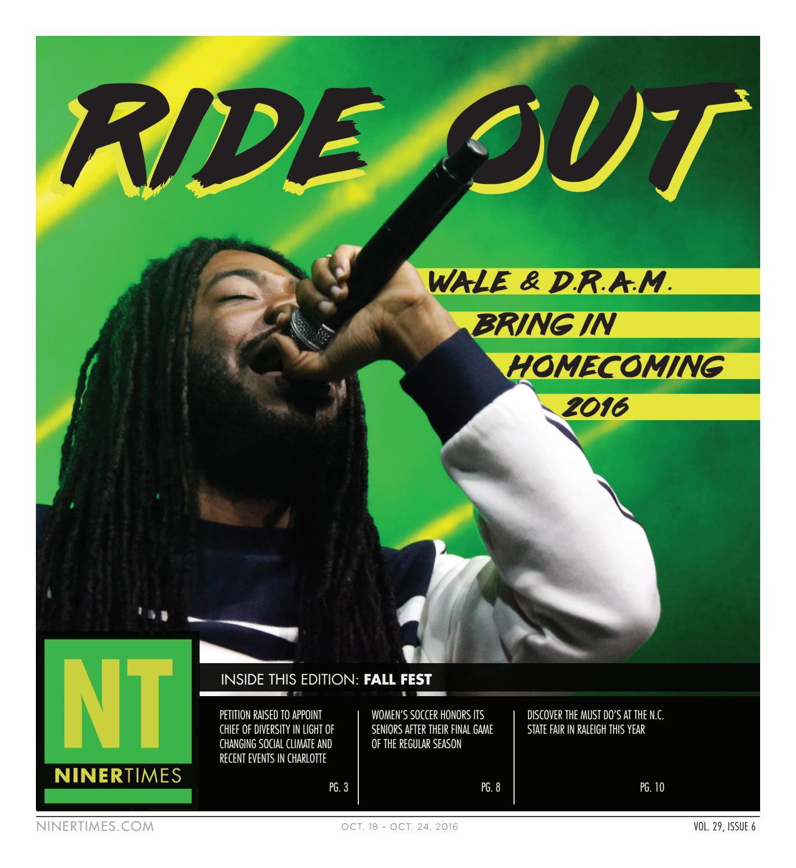 Niner Times October 18 2016 By Niner Times Issuu