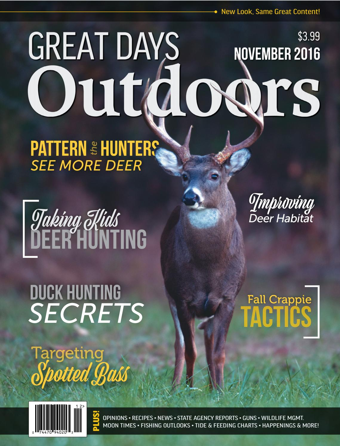 Great days outdoors november 2016 by trendsouth media issuu fandeluxe Choice Image