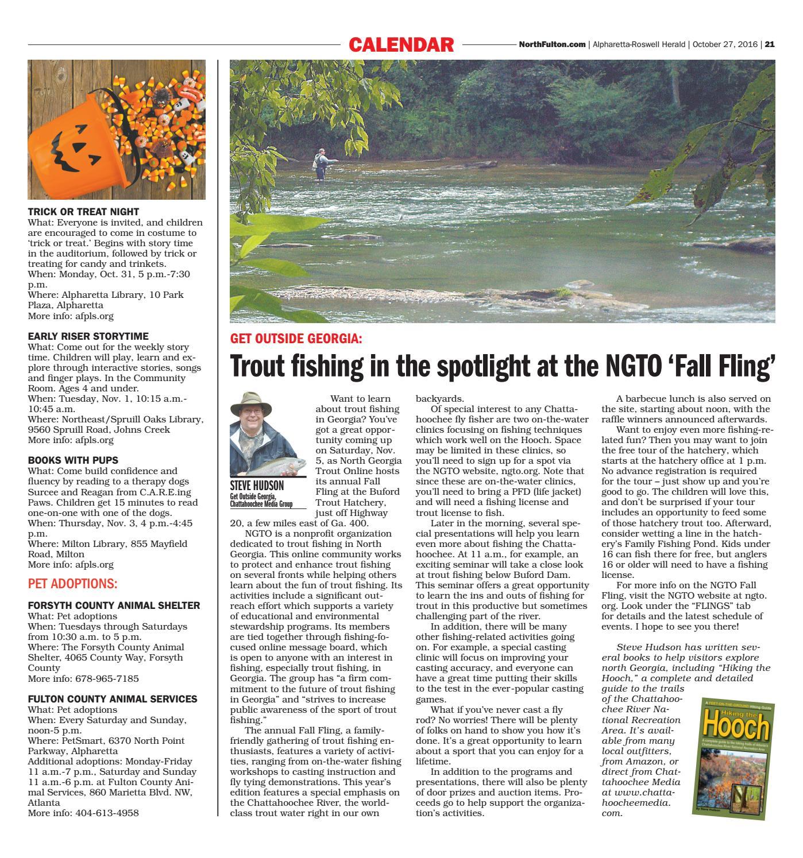 Alpharetta Roswell Herald October 27 2016 By Appen Media Group