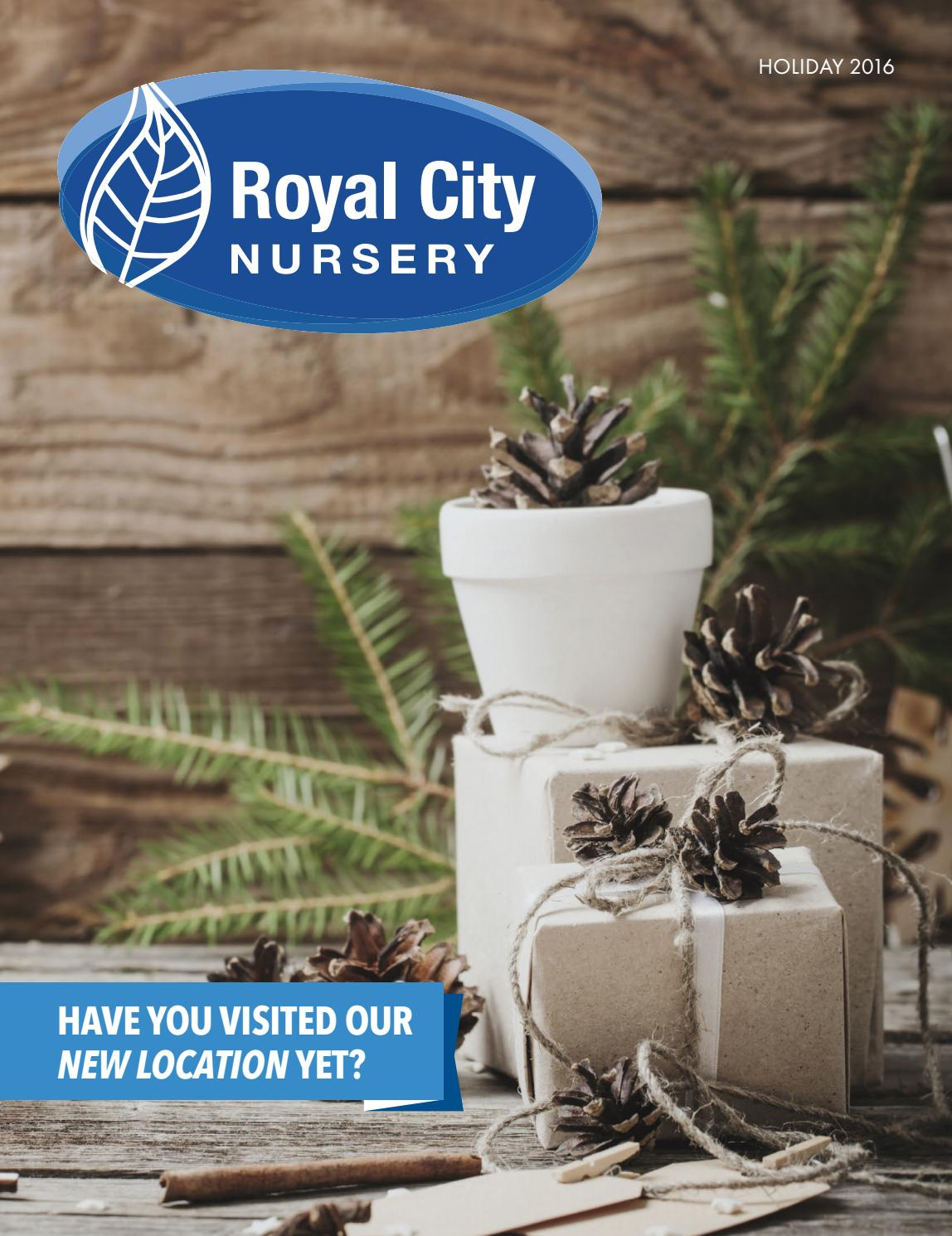 royal city nursery holiday 2016 by country road graphics inc issuu