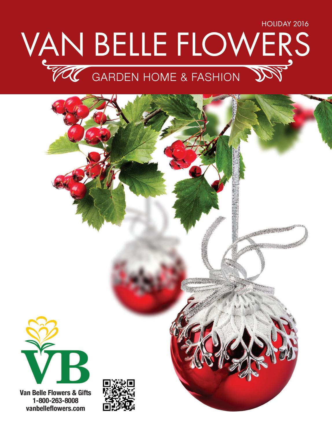 Van Belle Flowers Holiday 2016 by Country Road Graphics Inc. - issuu