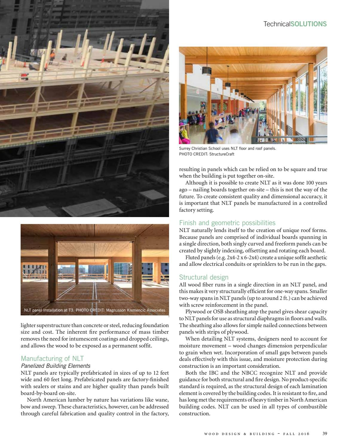 Wood Design & Building Fall 2016 by Dovetail Communications
