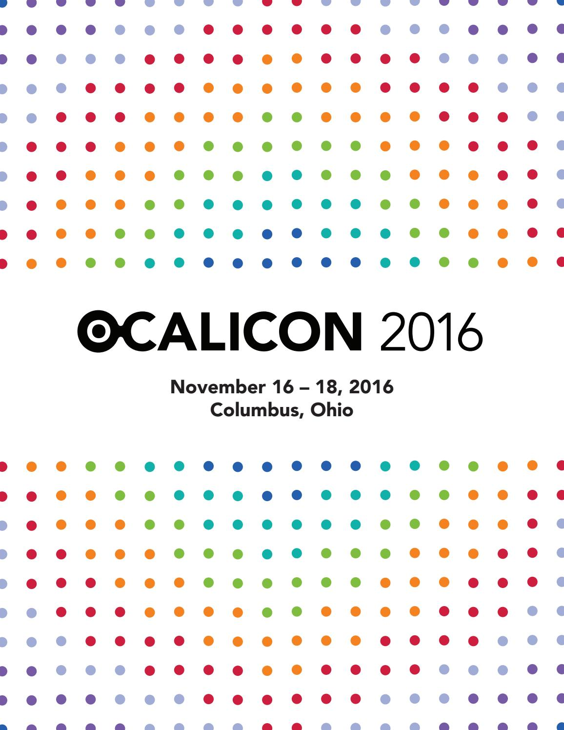 Ocalicon Program 2016 By Ocali Issuu Chairman Utility Chair Uc 506