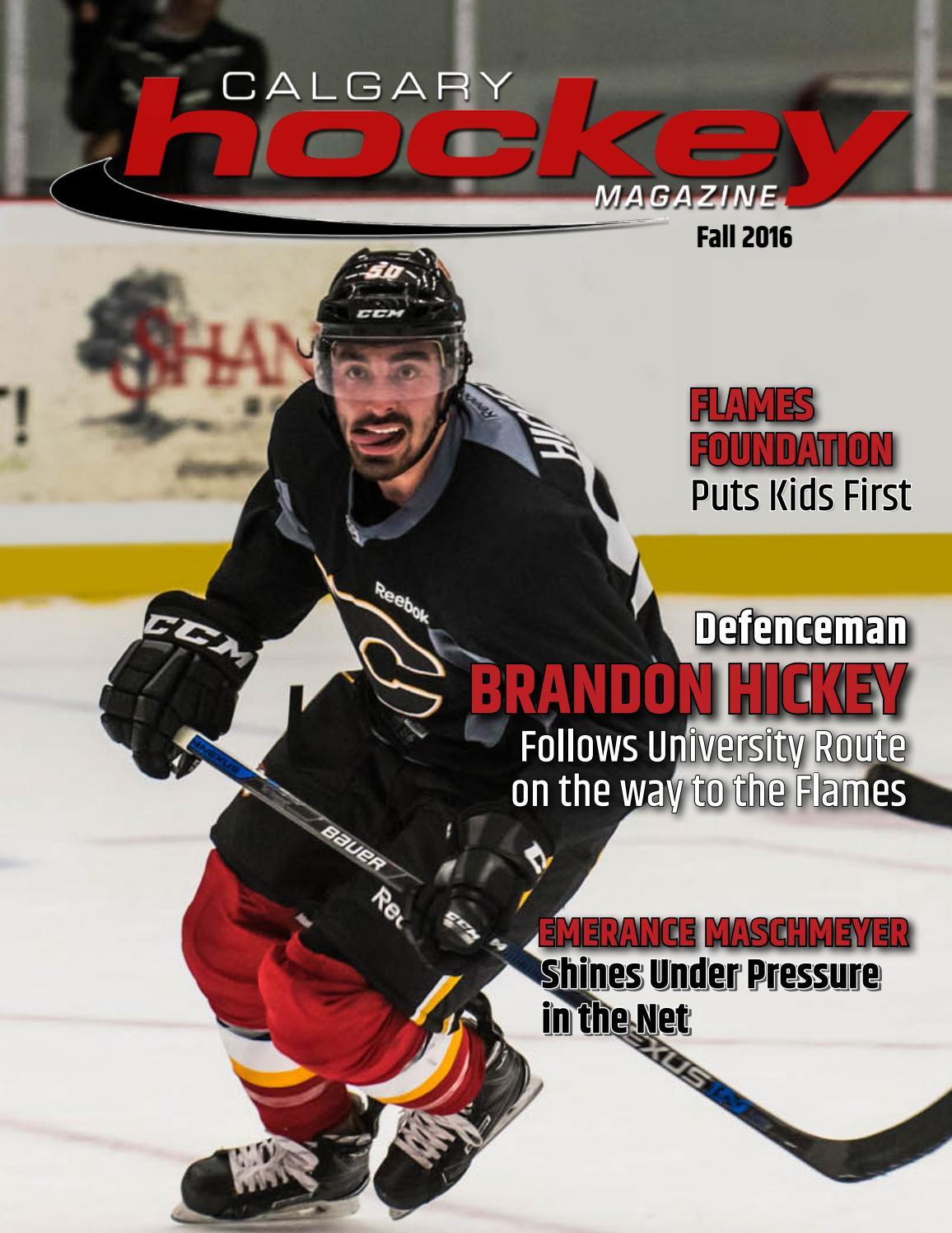 Barber tools ryan hellyer - Calgary Hockey Magazine Fall 2016