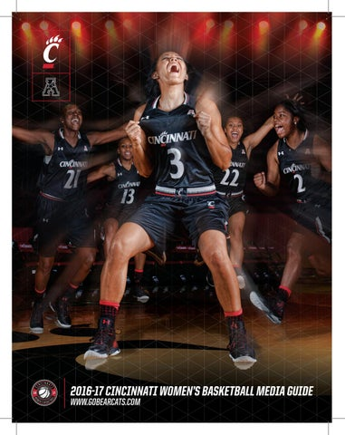 fd85926f119 2016-17 University of Cincinnati Women s Basketball Media Guide by ...