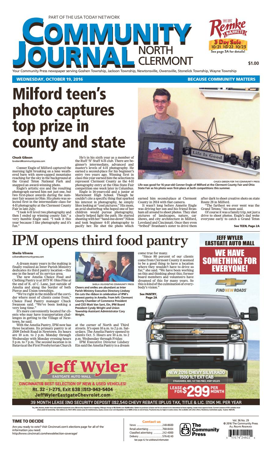 Comm journal n clermont 101916 by Enquirer Media - issuu