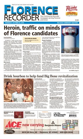Florence recorder 102016 by Enquirer Media - issuu