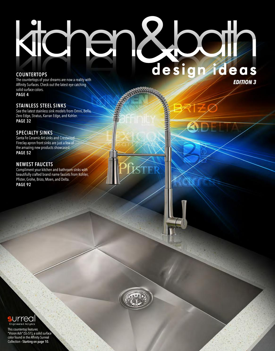 Kitchen And Bath Design Ideas By Domain Industries Inc Issuu