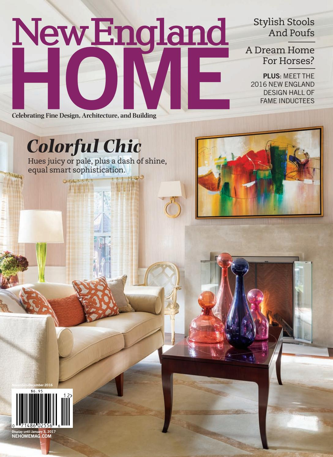 New England Home November December 2016 By New England Home Magazine Llc Issuu