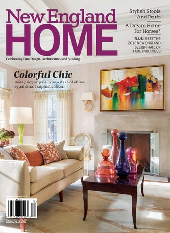 Stylish Stools And Poufs A Dream Home For Horses  Plus  Meet the 2016 New  England Design Hall of fame inductees Celebrating Fine Design 5dad52f82005e