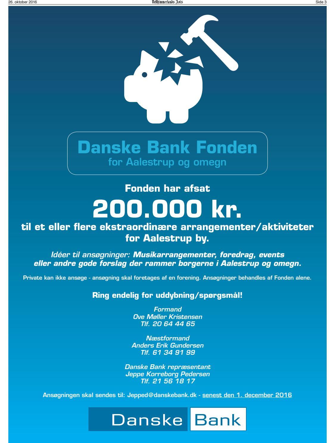 danske bank aalestrup