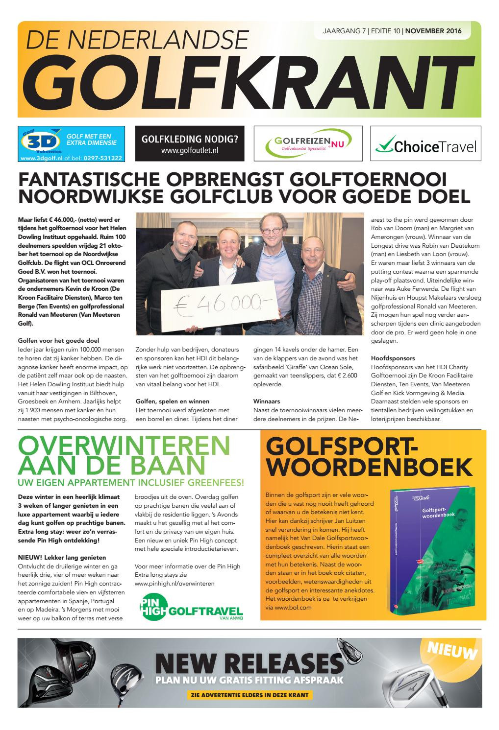 a793bb13773 Golfkrant editie november 2016 by Golfkrant - issuu