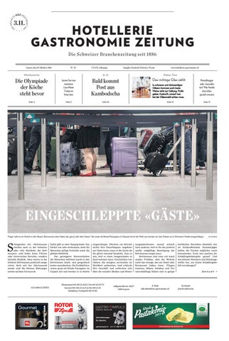 HG-Zeitung 29/2016 by Hotellerie_Gastronomie_Verlag - issuu