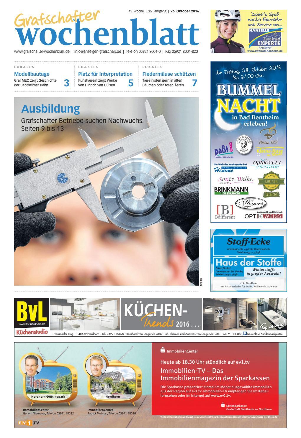 Grafschafter Wochenblatt_26-10-2016 by SonntagsZeitung - issuu