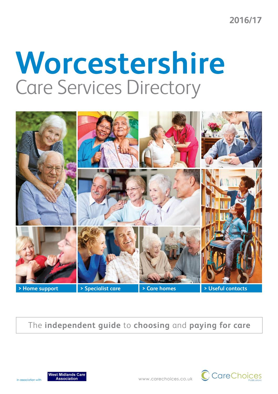 Worcestershire Care Services Directory 2016 17