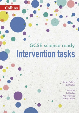 Gcse Science Ready Intervention Tasks For Ks3 By Collins Issuu