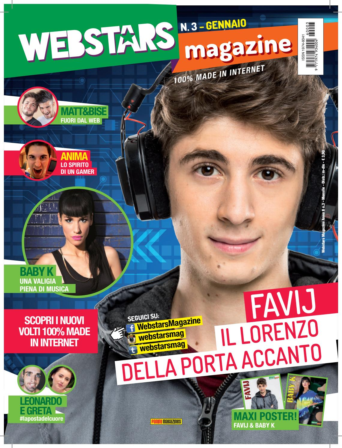 Webstars Magazine N3 Gen 2016 By Webstars Magazine Issuu