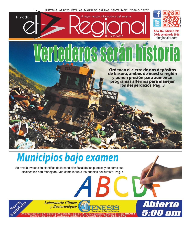 Peri Dico El Regional Edici N 891 By Peri Dico El Regional De  # Ahorro Muebles Cayey