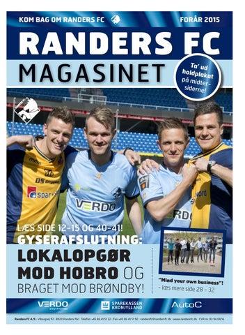 6eadc75a Randers FC Magasinet - forår 2015 by Randers FC - issuu