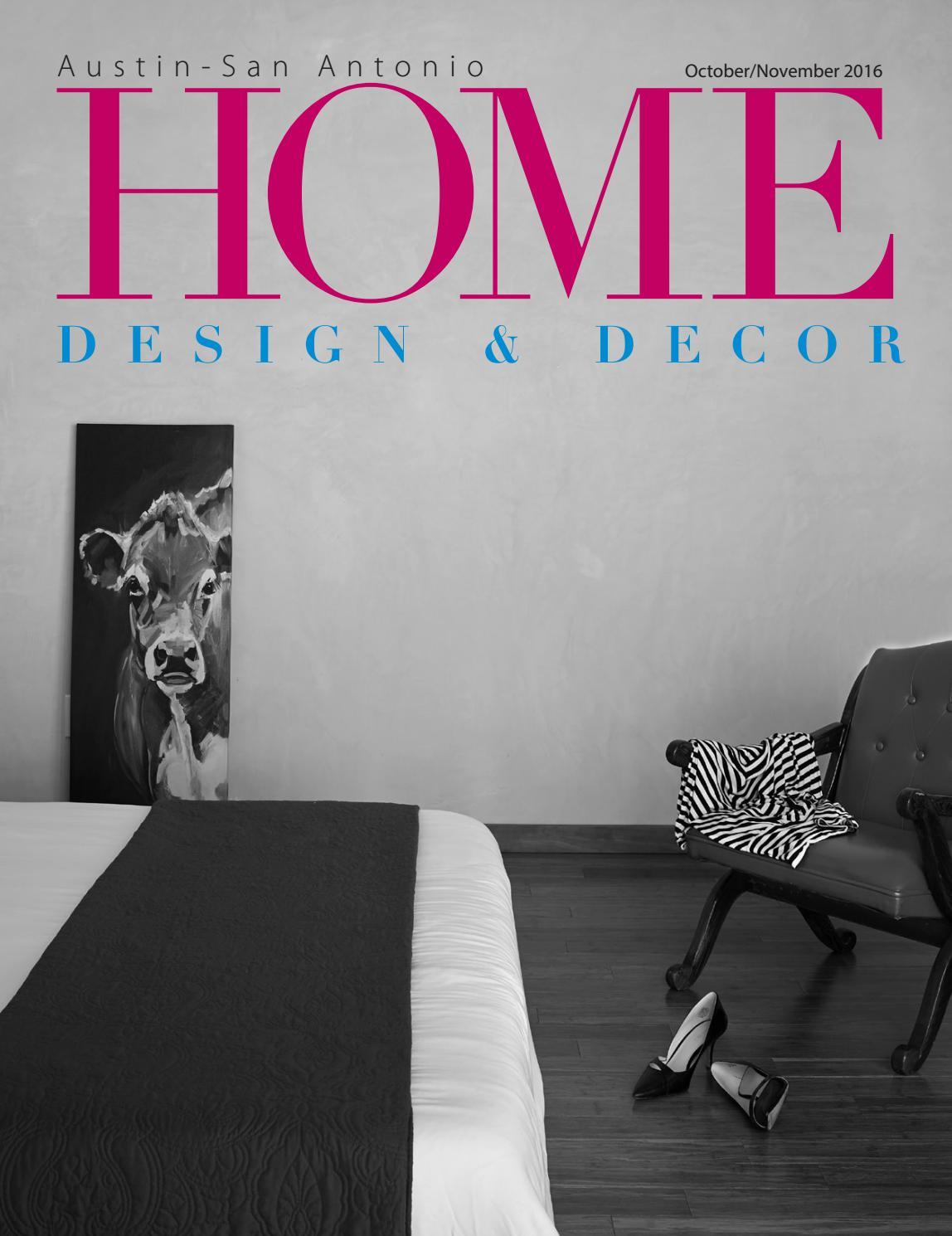0e2b76104 Austin Oct Nov 16 Home Design Decor Magazine by Home Design   Decor  Magazine - issuu
