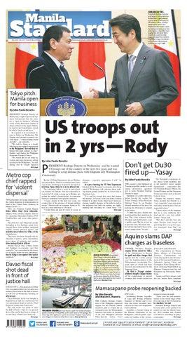 Manila Standard - 2016 October 27 - Thursday by Manila Standard - issuu