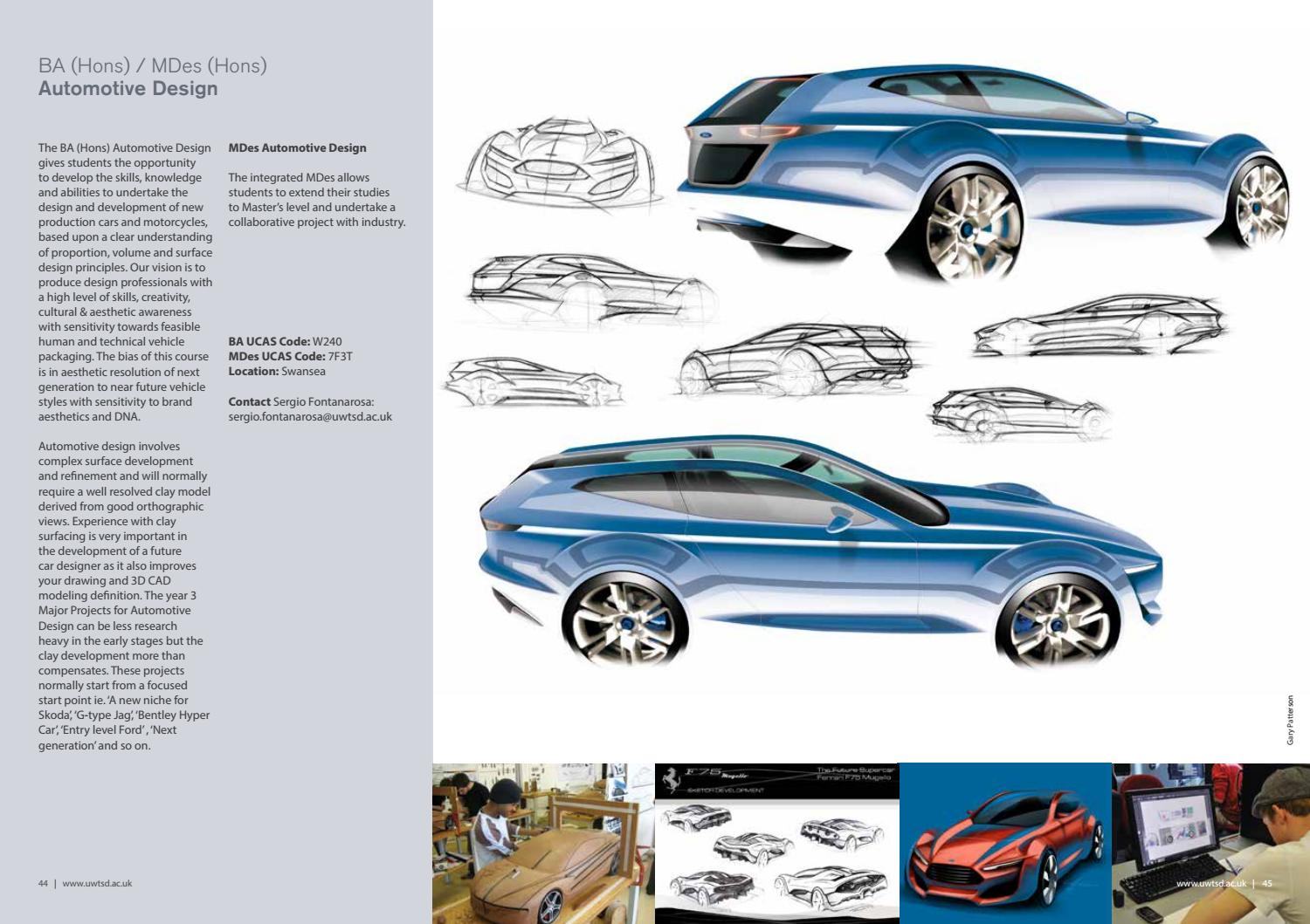 Product Automotive Transport Design By University Of Wales Trinity Saint David Issuu