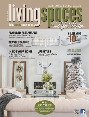 Outstanding Living Spaces Issuu Largest Home Design Picture Inspirations Pitcheantrous