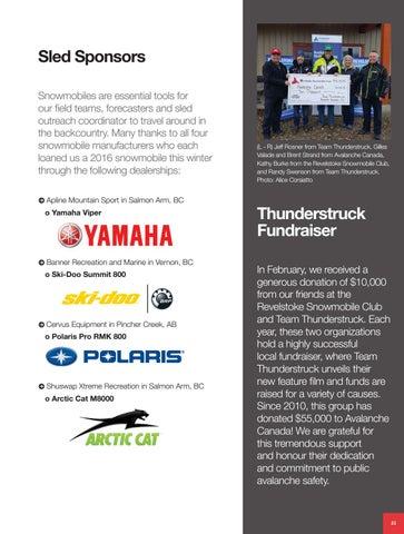 Avalanche Canada 2016 Annual Report by Avalanche Canada - issuu