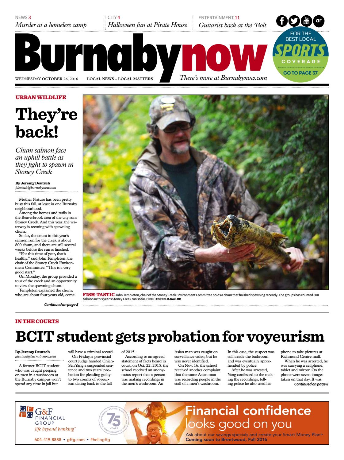 Burnaby Now October 26 2016 by Burnaby Now issuu