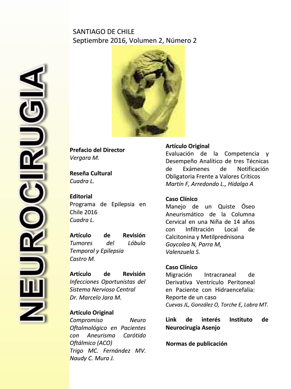 revista-septiembre-2016 by Instituto Neurocirugia - issuu