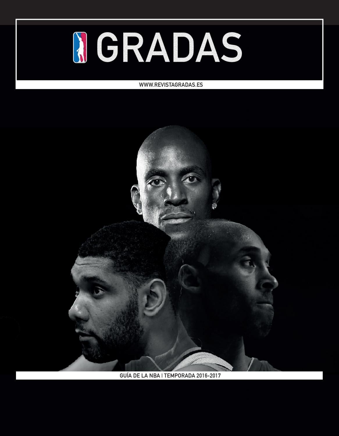 NBA 2016-2017 Season Guide by Revista Gradas - issuu a48f79f63aa