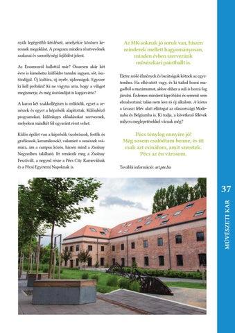 PTE EHÖK 1367 Magazin - Beiskolázási különszám by PTE EHÖK - issuu 0c392cdf17