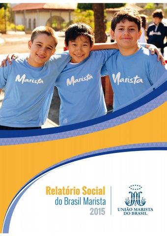 c0d420f2f Relatório Social do Brasil Marista 2015 by União Marista do Brasil ...