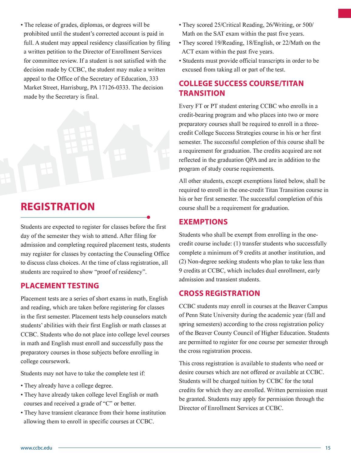 c276359e9b53 Community College of Beaver County 2016-17 Academic Catalog by Community  College of Beaver County - issuu